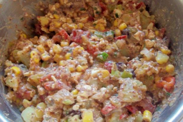 Mexikanische Ofenkartoffeln mit Dip - Rezept - Bild Nr. 3