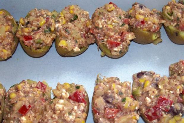 Mexikanische Ofenkartoffeln mit Dip - Rezept - Bild Nr. 5
