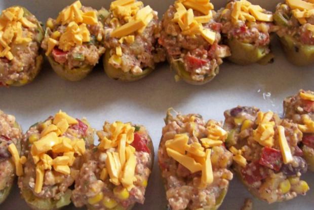 Mexikanische Ofenkartoffeln mit Dip - Rezept - Bild Nr. 6