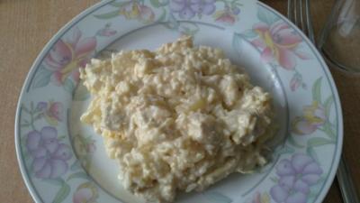 Curry-Reis-Salat mit Hähnchen - Rezept