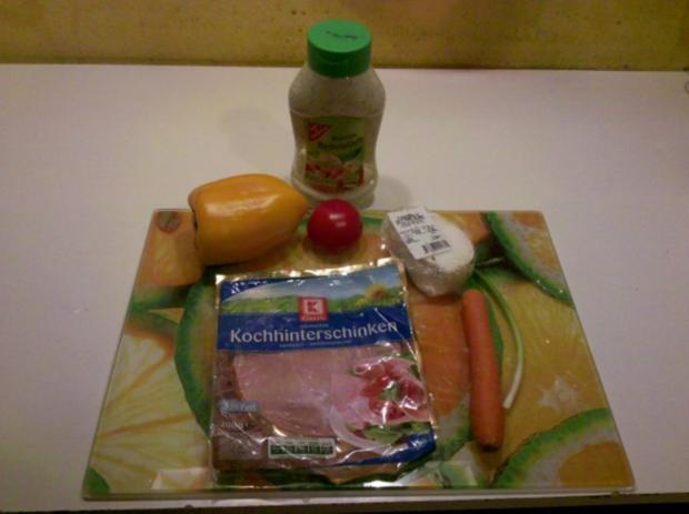 Abendbrot: Gefülltes Pitabrot - Rezept - Bild Nr. 3