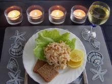 Dänischer Nudelsalat mit Shrimps - Rezept