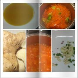 6 Karottensuppe Mit Ingwer Schuhbeck Und Paprikamettwurst Rezepte