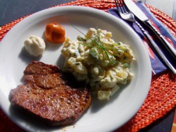 """Dänischer Kartoffelsalat""""Bunken Camping"""" - Rezept"""