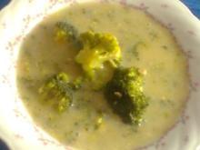 Broccoli-Cremesuppe - Rezept