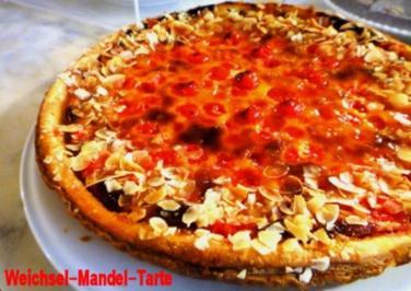 Weichsel - Mandel - Tarte - Rezept