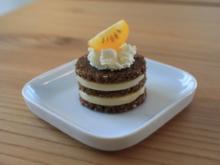 Schwarz-Gelbe Canapees - Rezept