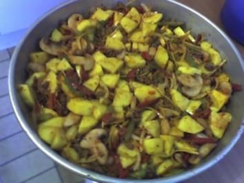 Kartoffel-Hackpfanne - Rezept