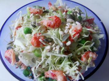 Dänischer Flusskrebs Salat - Rezept