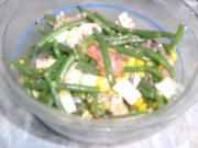 Bohnen-Mais-Salat - Rezept