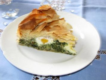 Backen pikant: Torta pasqualina - Rezept