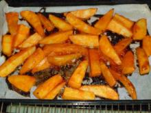 Kartoffelspalten in Chillisoße - Rezept