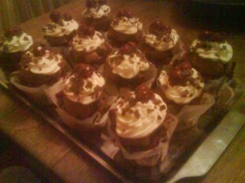 Schwarzwälderkirsch-Muffins - Rezept