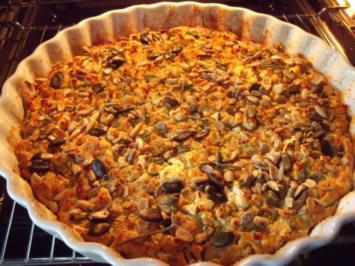 Schafkäse-Zucchini-Tarte - Rezept