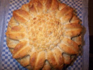 Weißbierbrot mit gerösteten Zwiebeln - Rezept