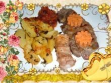 Beilagen :Kartoffeln überbacken...mit Kräutern aus dem Garten - Rezept