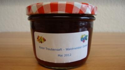 Rote Trauben-Waldmeister Gelee - Rezept