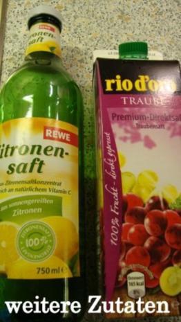 Rote Trauben-Waldmeister Gelee - Rezept - Bild Nr. 6