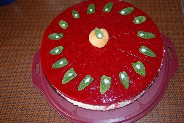 Windbeutel-Torte - Rezept
