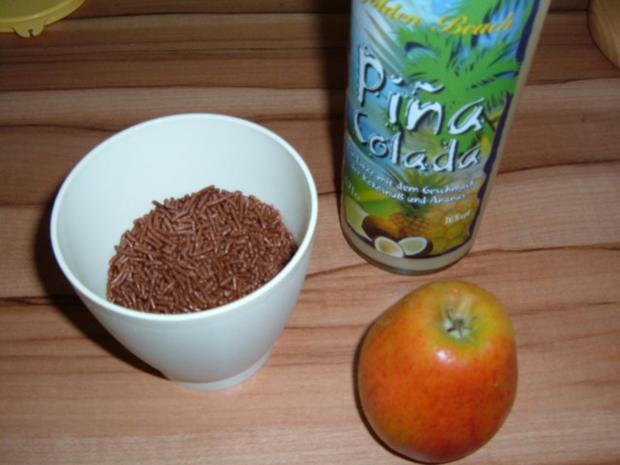 Kuchen : Apfel - Pina Colada - Rezept - Bild Nr. 2