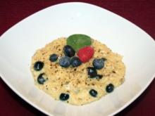 Steinpilzrisotto mit Blaubeeren - Rezept