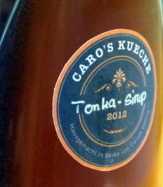 Tonka-Sirup - Rezept