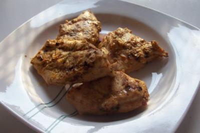 Grillen: Fruchtige Joghurt-Mango-Marinade - Rezept