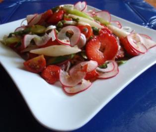 Fruchtiger Spargelsalat - Rezept