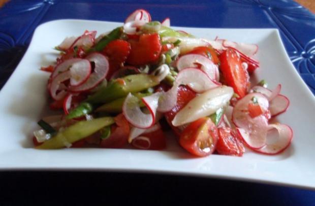 Fruchtiger Spargelsalat - Rezept - Bild Nr. 15
