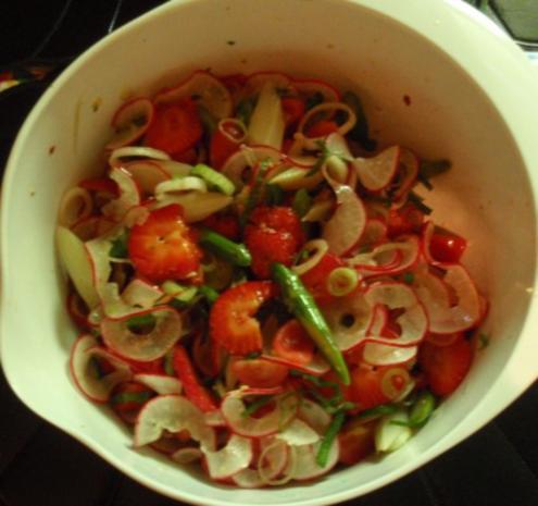 Fruchtiger Spargelsalat - Rezept - Bild Nr. 12