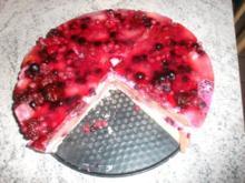 Waldbeeren Torte - Rezept