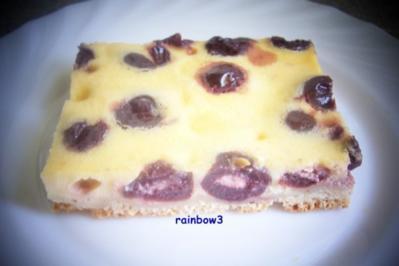 Backen: Kirsch-Mascarpone-Kuchen - Rezept