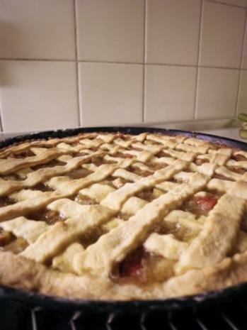 Rhabarber-Pie - Rezept - Bild Nr. 2