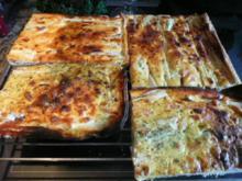 TARTE /QUICHE :Spargel Lachs Spinat - Rezept