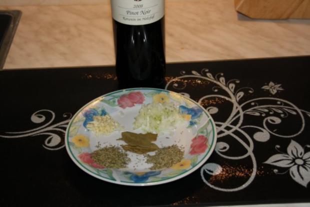 Hähnchen Leber Mariniert auf Feldsalat - Rezept - Bild Nr. 3