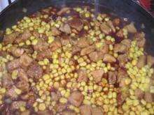 scharfes Schwein mit Mais - Rezept