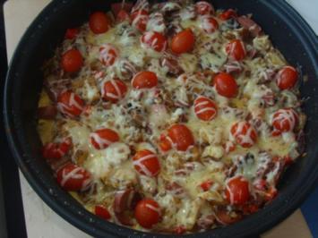 Kartoffelpfanne mit Sucuk - Rezept