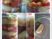 Geschichtete Obstsorten mit Biskuit Keksen - Rezept - Bild Nr. 14