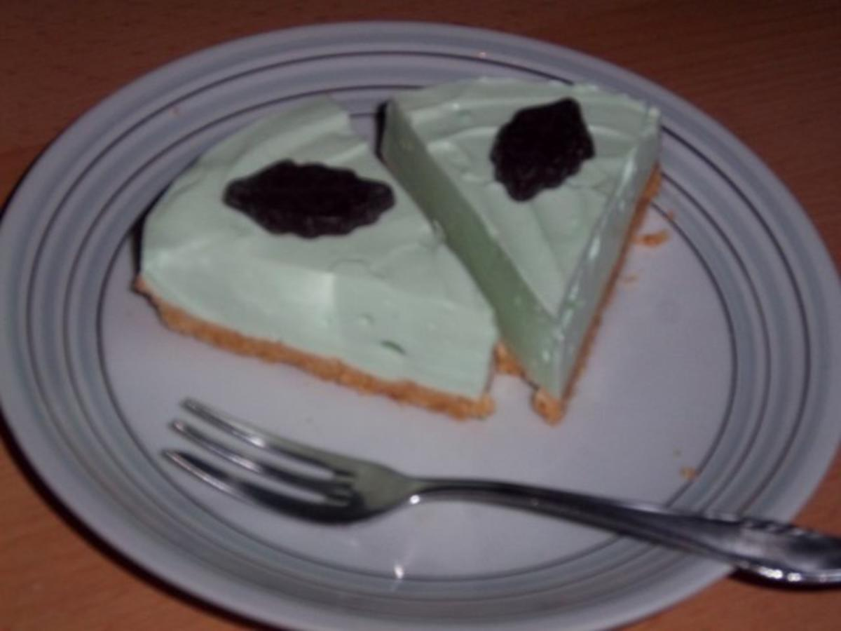 Bananen waldmeister torte