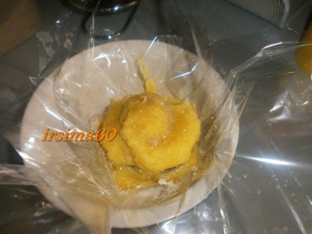 Pfirsiche aus dem Ofen in Bratfolie gegart mit Rosmarin - Mascapone - Rezept - Bild Nr. 11