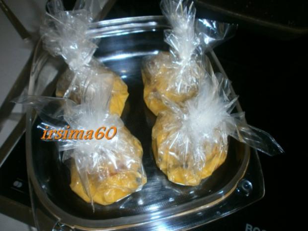 Pfirsiche aus dem Ofen in Bratfolie gegart mit Rosmarin - Mascapone - Rezept - Bild Nr. 12