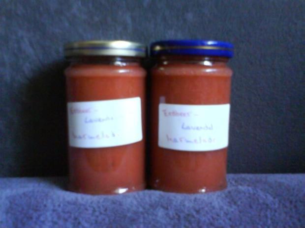 Erdbeer-Lavendelmarmelade - Rezept