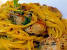Selfmade Spaghetti with 6-Spices-Chicken - Rezept