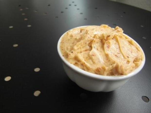 Chili Butter mit Knoblauch - Rezept