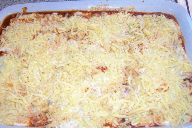 Würzige Lasagne mit grünem Spargel, Hack, und Zitronen-Crème fraîche - Rezept - Bild Nr. 11