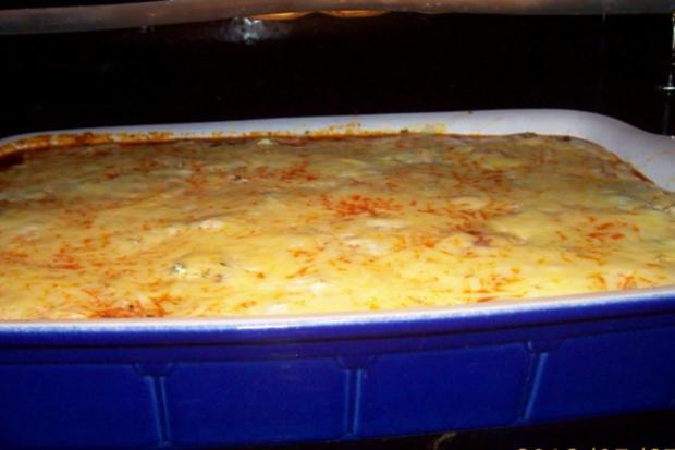 Würzige Lasagne mit grünem Spargel, Hack, und Zitronen-Crème fraîche - Rezept - Bild Nr. 12