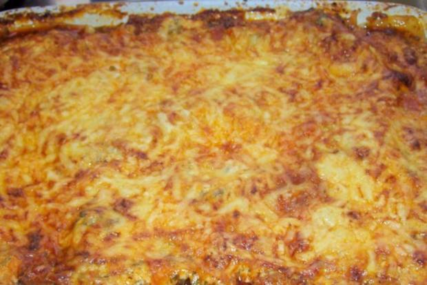Würzige Lasagne mit grünem Spargel, Hack, und Zitronen-Crème fraîche - Rezept - Bild Nr. 13