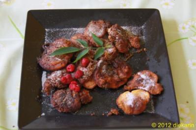 Dessert - Holunder- Küchle - Rezept