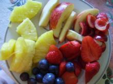 sommerlicher Obstteller - Rezept