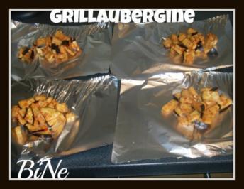 BiNe` S MARINIERTE GRILLAUBERGINE - Rezept
